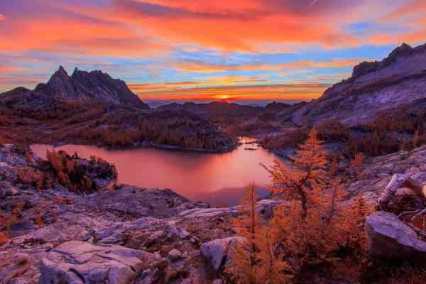 Perfection Lake Sunrise