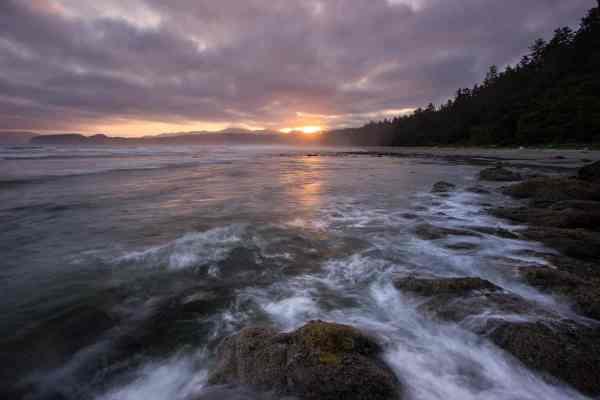 Shi Shi Beach Sunrise