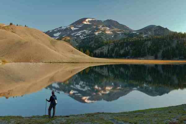 South Sister & Moraine Lake