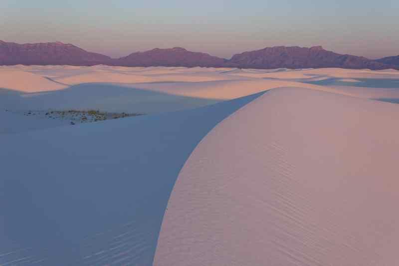 Sunrise on White Sands