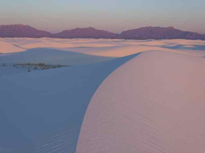 Sunrise on White Sands