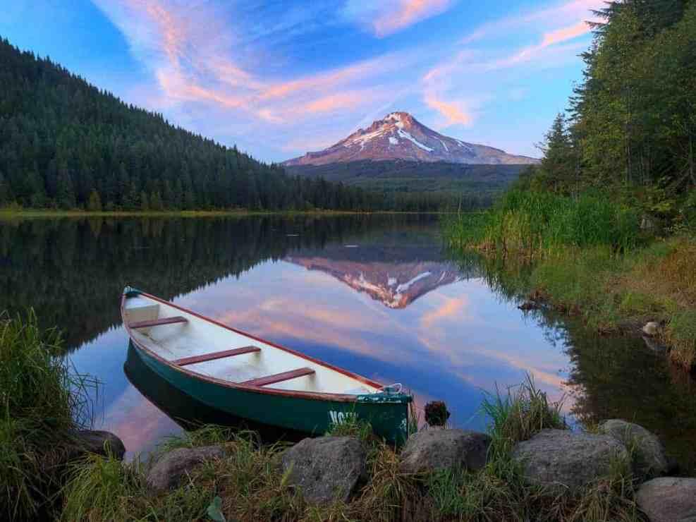 Trillium Lake Canoe
