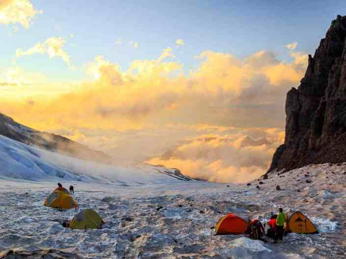 View from Base Camp