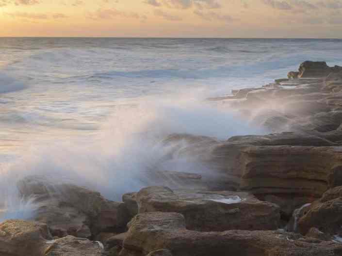 Waves on Sandstone