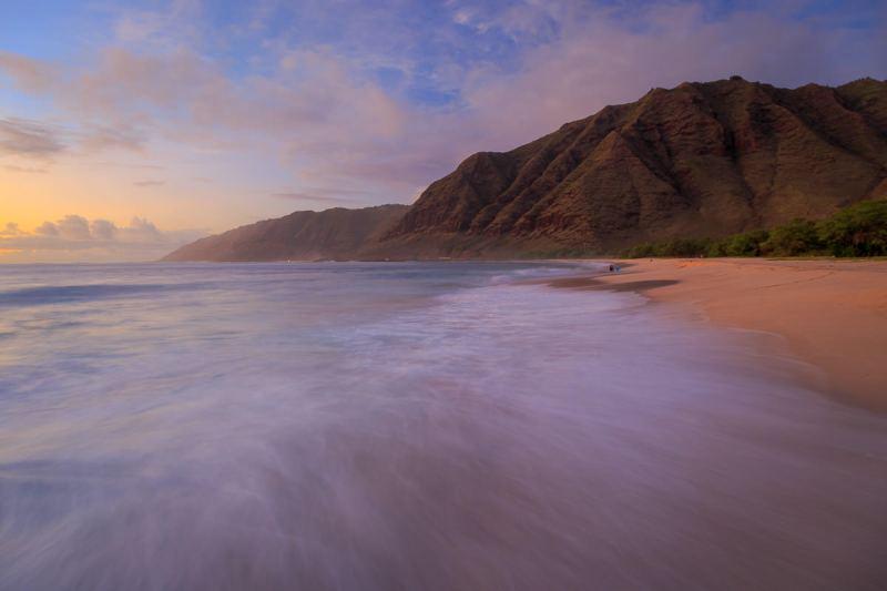 Makua Beach Afterglow