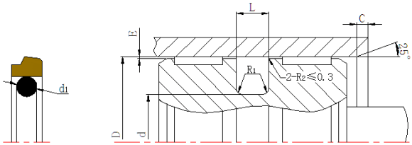 DSH-Pneumatic Piston Seal | Dsd-custom Step Seal Piston Ring-3
