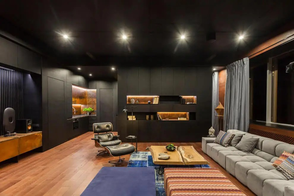 Loft With Oriental Motives Dramatic And Ultra Modern D