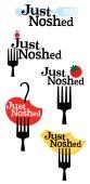 JustNoshed logo options