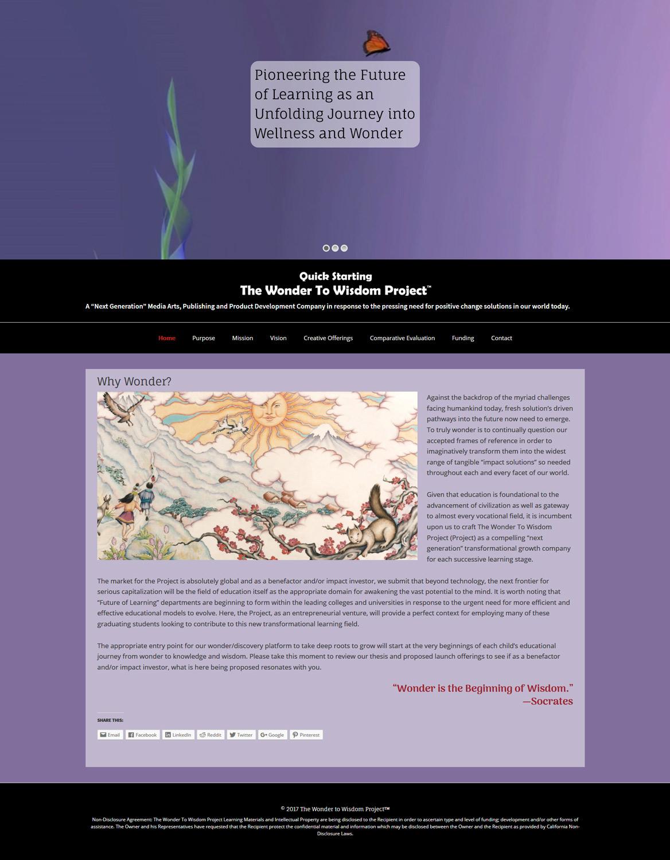 WonderLinked.com homepage