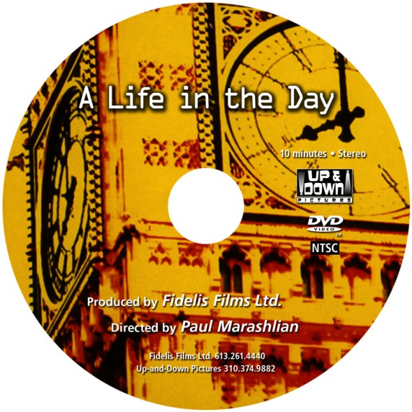 A Life in the Day DVD