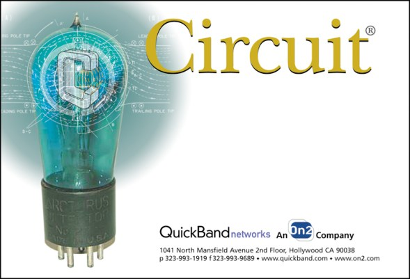 QuickBand Networks Circuit Mailing Label