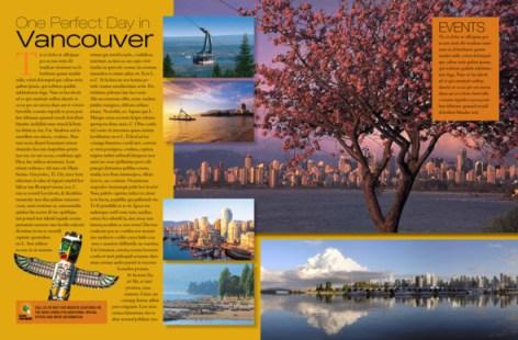 Editorial Print Design Layout