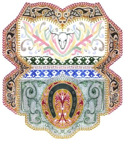 Western Screen-Print Design