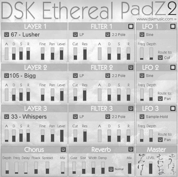 Free VST download DSK Ethereal PadZ 2 : DSK Music