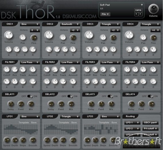 Thor polysonic synthesizer | reason experts.
