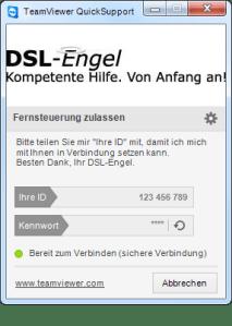 DSL-Engel-Fernsteuerung-Support