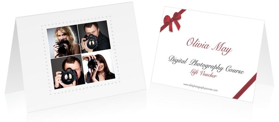 Digital Photography Courses Gift Vouchers