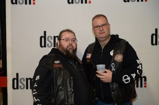 Tech and Sarge, of BACA, Bikers Against Child Abuse