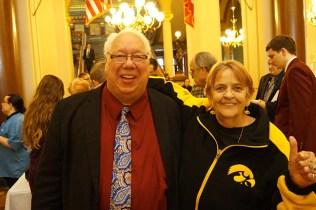 Representative Bruce Hunter and Karen Ayala