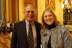 Senator Dennis Guth and Krable Mentzer