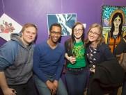 8. Keenan Crow (One Iowa), Daniel Zeno ((ACLU of Iowa), Brittany Deal and Rita Bettis (ACLU of Iowa)