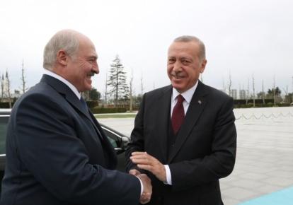 Реджеп Ердоган і Олександр Лукашенко