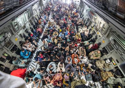 Евакуація жителів Афганістану