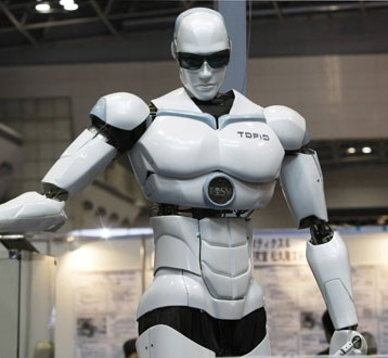 Sanitation Worker Robot