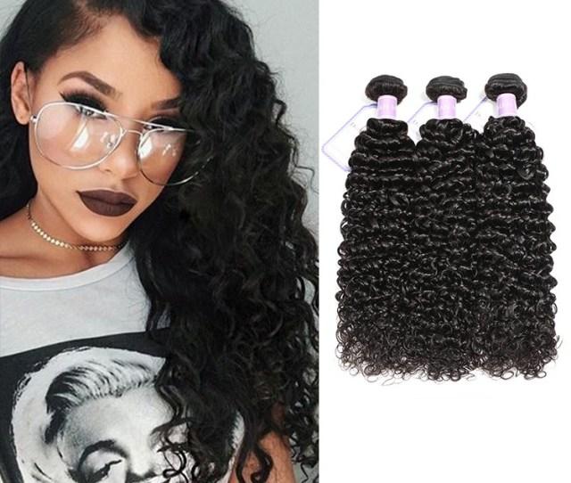 Dsoar Virgin Malaysian Curly Hair Weave   Inch