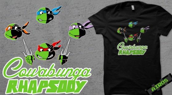 Queen + Tortugas Ninja
