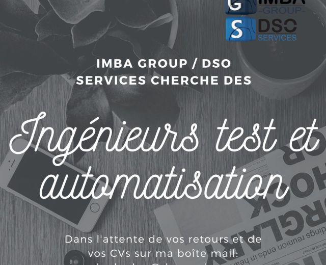 IMBA Group cherche des ingénieurs test et automatisation