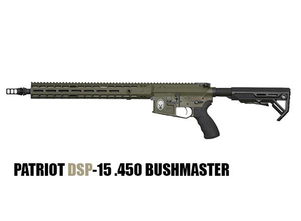 PATRIOT DSP-15 .450 BUSHMASTER