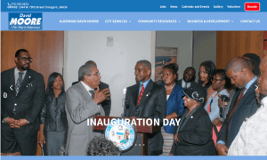 Image of 17th Ward website Home page