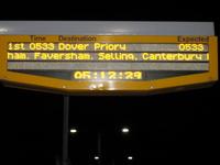Station Info Sign