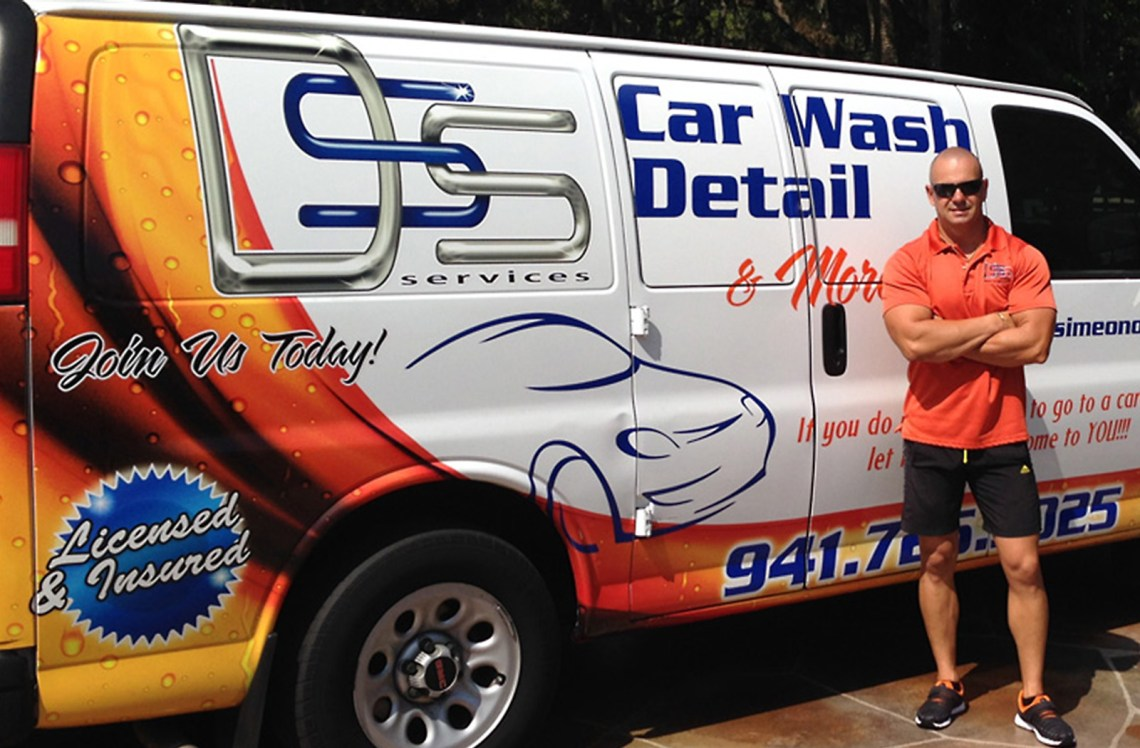 Mobile Detailing Car cleaning in Sarasota