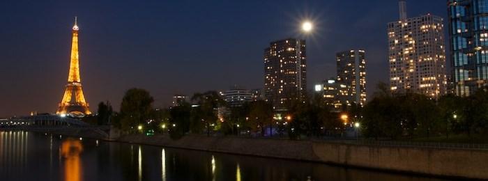 Photo de Paris de nuit