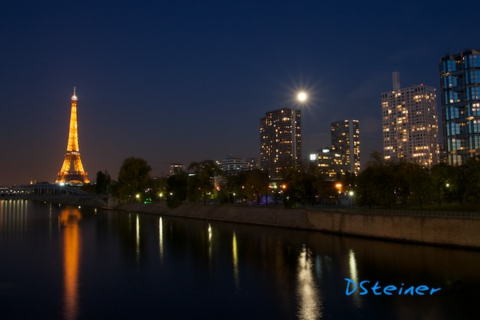 Photo de Paris de nuit