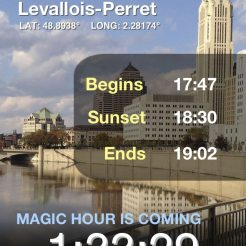 Magic Hour pour iPhone