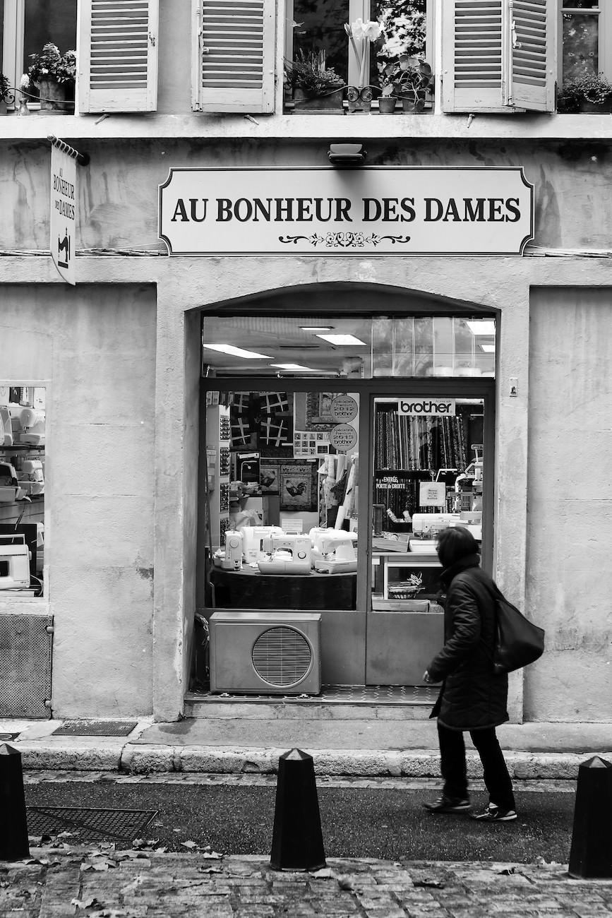 #02 Au bonheur des dames, boutique d'Aix
