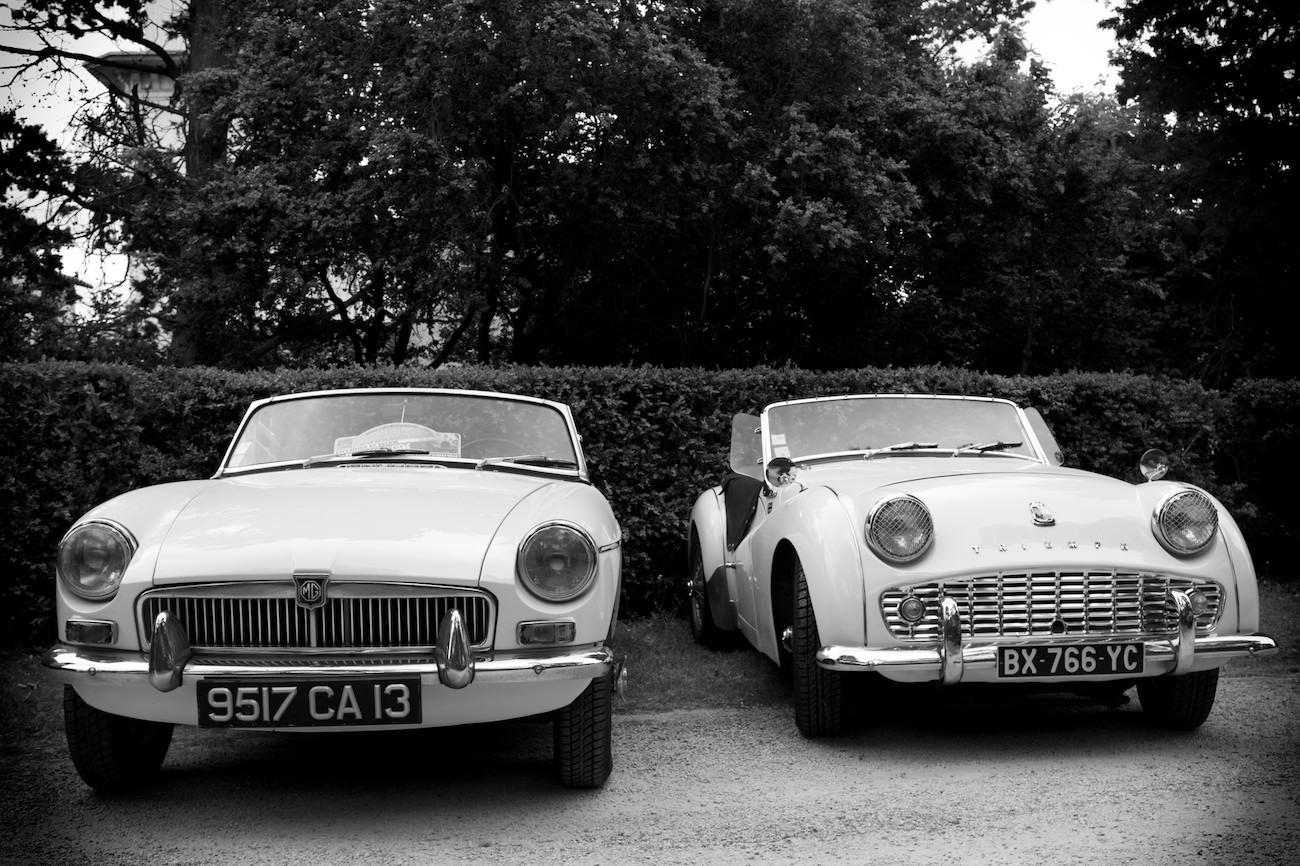 Photo de vieille voiture