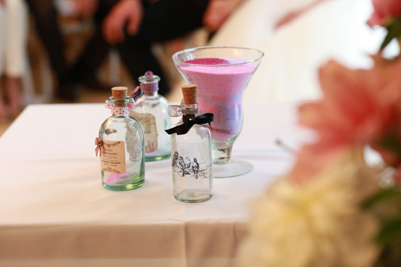 Décor table mariage La Baratonne Toulon
