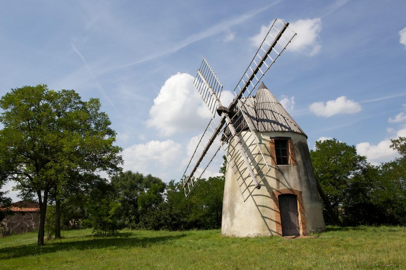 Moulin en photo