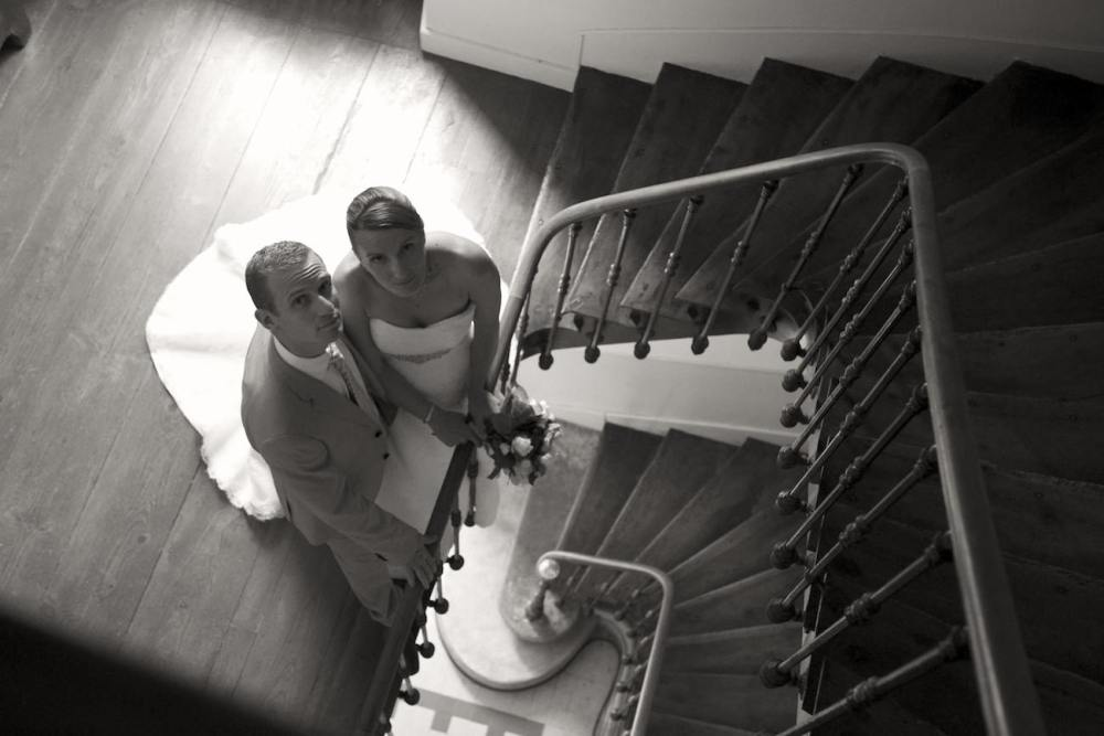 Photo de couple mariage