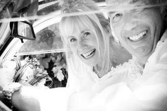 mariage d'Etienne et Brigitte : le départ
