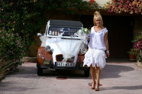 Mariage d'Etienne et Brigitte : la voiture
