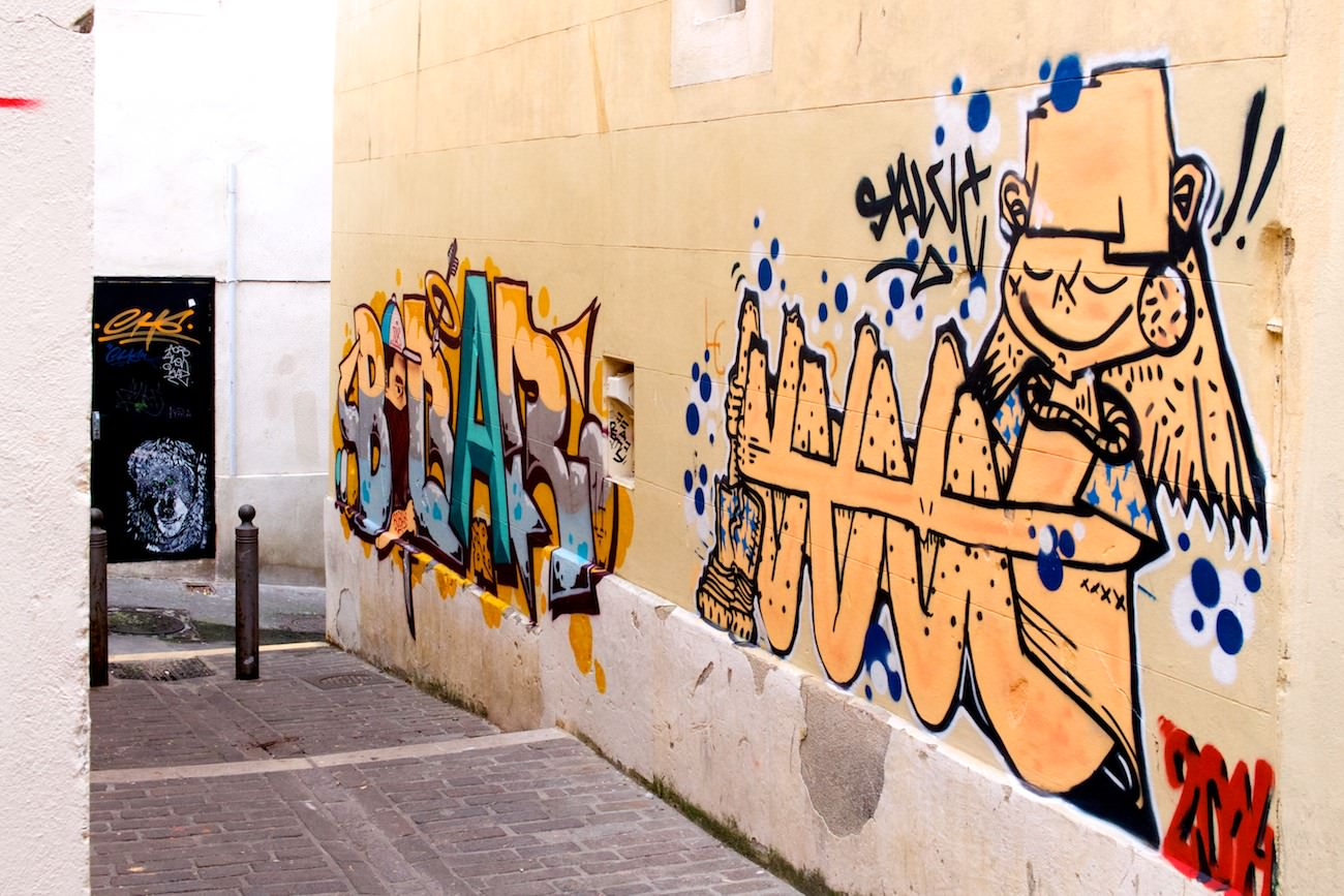 Street photo Marseille