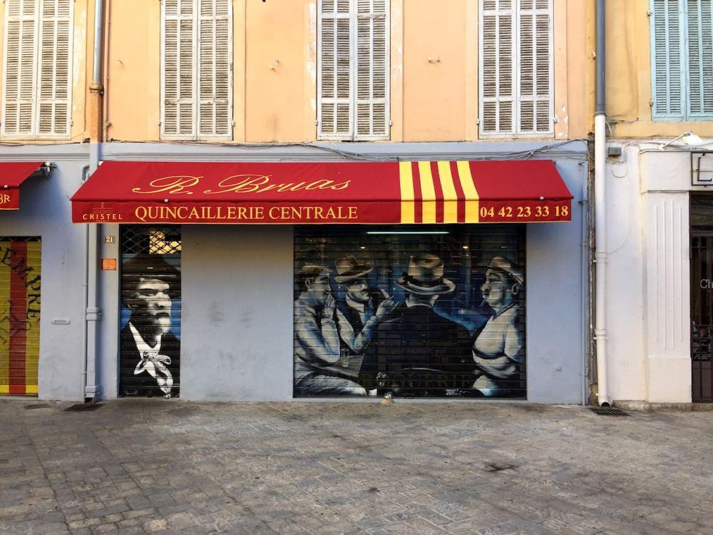 #04 Façade et graffiti