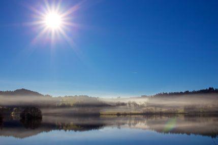 Brume en Auvergne