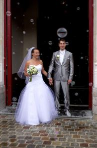 Photo de mariage au 40mm