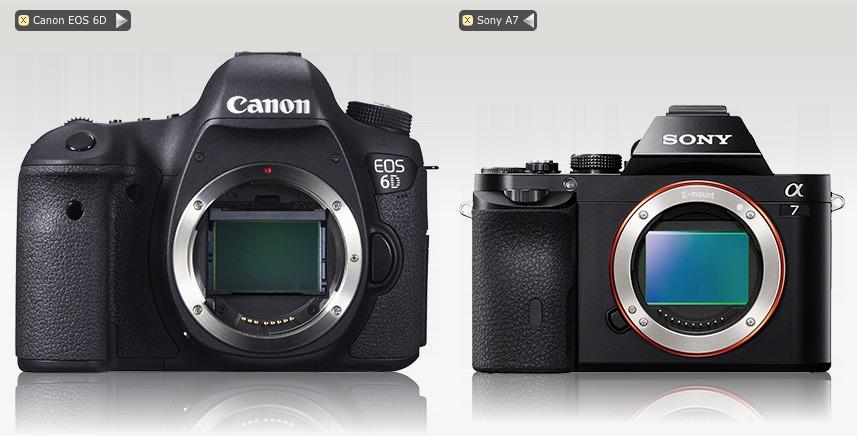 Canon EOS 6D - Sony A7